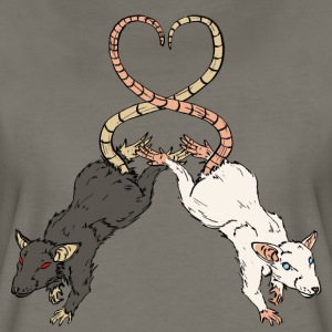Rat Love T-Shirts - Women's Premium T-Shirt