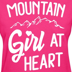 Mountain girl at heart T-Shirts - Women's T-Shirt