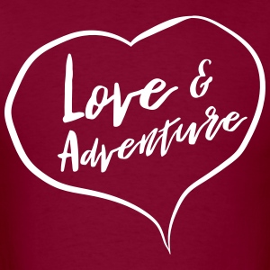 Love and adventure T-Shirts - Men's T-Shirt