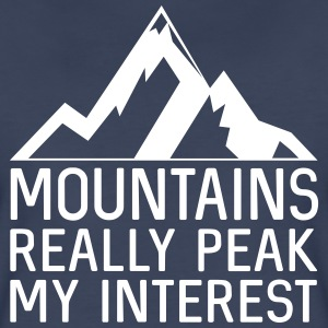 Mountains really peak my interest T-Shirts - Women's Premium T-Shirt