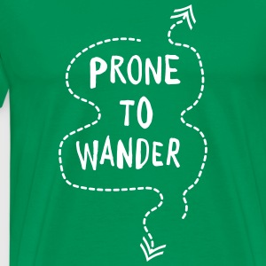 Prone to Wander T-Shirts - Men's Premium T-Shirt