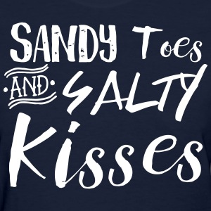 Sandy Toes and Salty Kisses T-Shirts - Women's T-Shirt