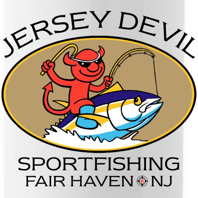 Jersey Devil Water Bottle-Striper