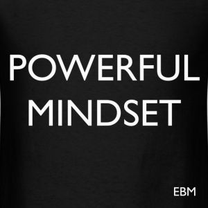Black Men Powerful Mind T-Shirts - Men's T-Shirt