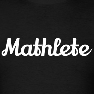 Mathlete Womens Tshirt - Men's T-Shirt