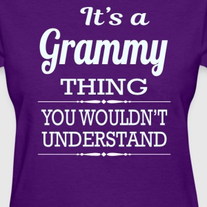 It's a Grammy thing you wouldn't understand - Women's T-Shirt