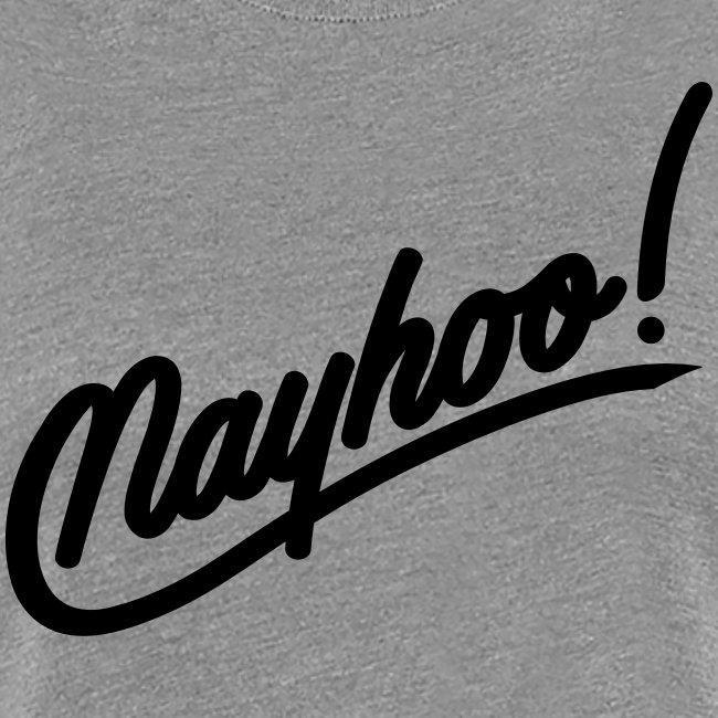 Womens Black Nayhoo Premium Shirt