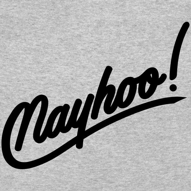 Men's Black Nayhoo Crewneck