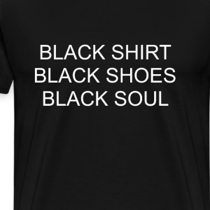 Black Everything Emo T-shirt T-Shirts - Men's Premium T-Shirt
