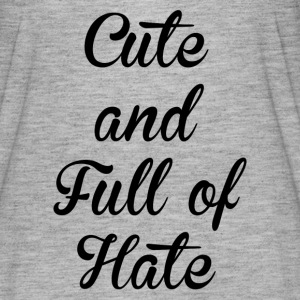 CUTE AND HATE FUNNY T-Shirts - Women's Flowy T-Shirt