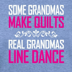 Real Grandmas Line Dance - Women's Wideneck Sweatshirt