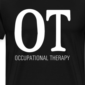 Occupational Therapy Graphic T-shirt T-Shirts - Men's Premium T-Shirt