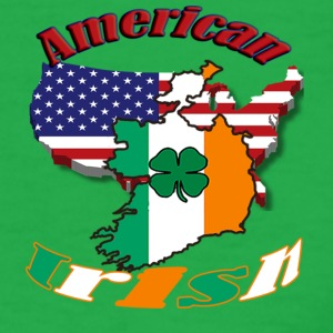 Ladies American Irish T  - Women's T-Shirt