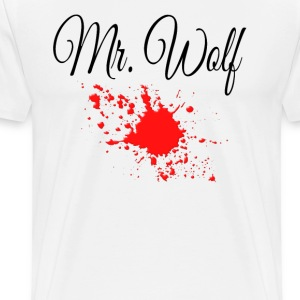 Pulp Fiction - Mr. Wolf T-Shirts - Men's Premium T-Shirt