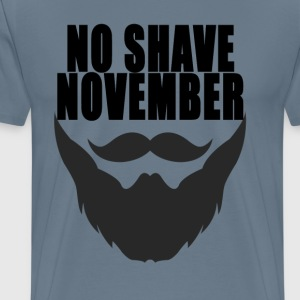 no_shave_november_ - Men's Premium T-Shirt