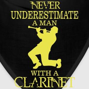 NEVER UNDERESTIMATE A MAN WITH A CLARINET! Caps - Bandana