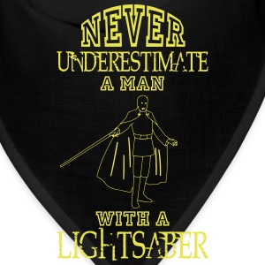 NEVER UNDERESTIMATE A MAN WITH A LIGHTSABER! Caps - Bandana