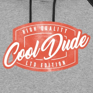 cool dude.png Hoodies - Colorblock Hoodie