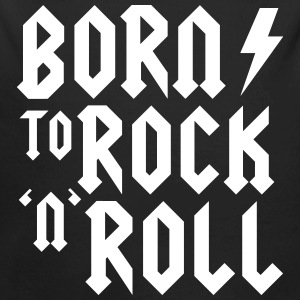 Born to rock n roll Baby Bodysuits - Long Sleeve Baby Bodysuit