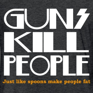 JUST LIKE SPOONS T-Shirts - Fitted Cotton/Poly T-Shirt by Next Level