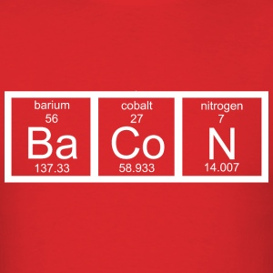 Bacon Chemistry - Men's T-Shirt