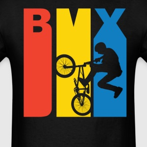 BMX Silhouette Extreme Sports T-Shirt - Men's T-Shirt