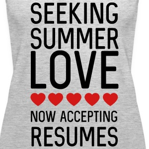 Seeking summer love. Now accepting resumes Tanks - Women's Premium Tank Top