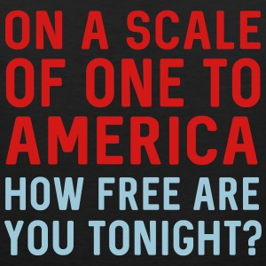 On a scale of one to America. How free tonight Sportswear - Men's Premium Tank