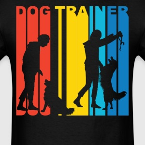Dog Trainer Silhouette Dog Owner T-Shirt - Men's T-Shirt