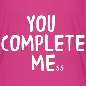 You complete me/mess T-Shirts - Women's Flowy T-Shirt