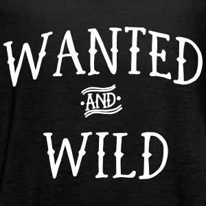 Wanted and Wild Tanks - Women's Flowy Tank Top by Bella