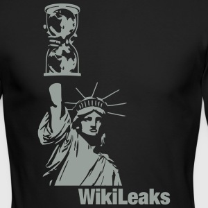 WikiLeaks Liberty Long Sleeve Shirts - Men's Long Sleeve T-Shirt by Next Level