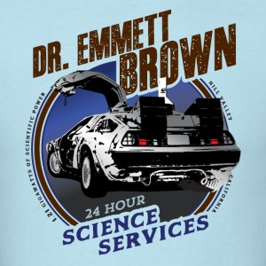 Dr. Emmett Brown Science Services - Men's T-Shirt