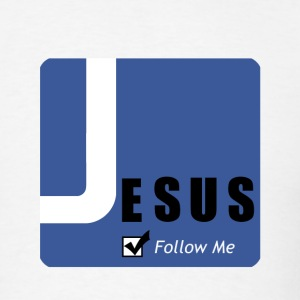 JESUSfollowme - Men's T-Shirt