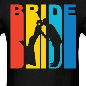 Husband And Wife Silhouette Bride T-Shirt - Men's T-Shirt