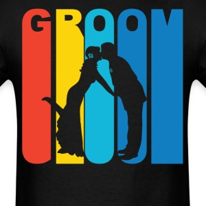 Husband And Wife Silhouette Groom T-Shirt - Men's T-Shirt