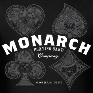 Monarch Playing Cards - Men's T-Shirt