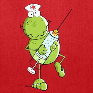 Nurse Frog Cartoon Bags & backpacks - Tote Bag