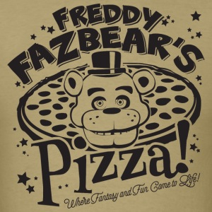 Freddy Fazbear Pizza - Men's T-Shirt