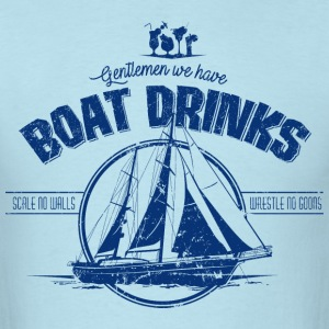 BoatDrinks - Men's T-Shirt