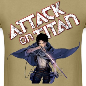 Levi Attack On Titan - Men's T-Shirt