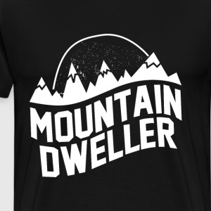 Men's Mountain Dweller Graphic Outdoors T-shirt T-Shirts - Men's Premium T-Shirt