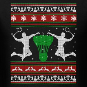 Badminton Shirt - Badminton Christmas Shirt - Men's T-Shirt