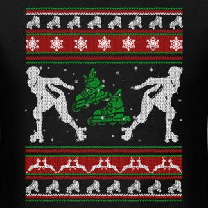 Roller Derby Shirts - Roller Derby Christmas Shirt - Men's T-Shirt
