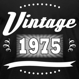 VINTAGE 1975 2.png T-Shirts - Men's T-Shirt by American Apparel