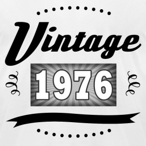 VINTAGE 1976 2.png T-Shirts - Men's T-Shirt by American Apparel