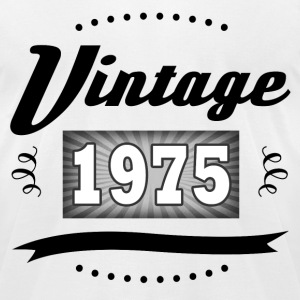 VINTAGE 1975 1.png T-Shirts - Men's T-Shirt by American Apparel