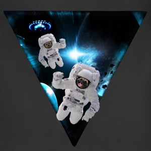 Puppies Lost in Space Aprons - Adjustable Apron