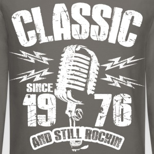 Classic Since 1976 Long Sleeve Shirts - Crewneck Sweatshirt