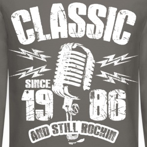 Classic Since 1986 Long Sleeve Shirts - Crewneck Sweatshirt